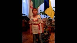 """Єрківецьке НВО, соло ІІ вікова група на конкурс """"Калиновий дзвін"""""""