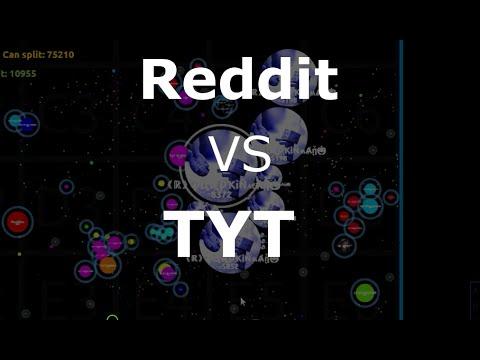 Agar.io| Reddit vs TYT and server domination