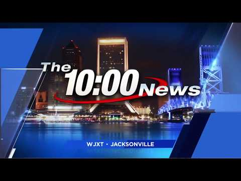 WJXT - News 4 Jax at 10pm open (July 9, 2017)