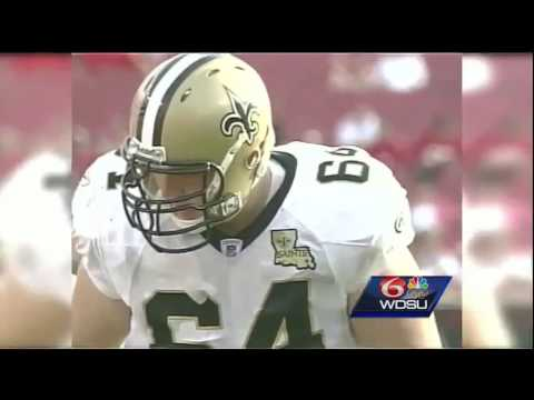 Saints player Zach Strief not worried about pre-season gamblers