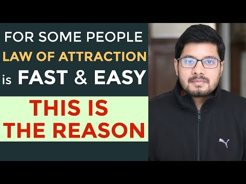 MANIFESTATION #94: Fascinating EXACT Result - Why For Some People Law of Attraction is Fast & Easy