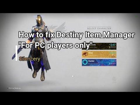 How to fix Destiny Item Manager (DIM)