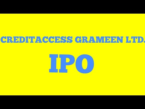 Creditaccess Grameen Ltd. IPO|| Everything you need to know.