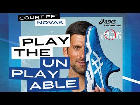 ASICS Court FF Novak US Open Tennis Shoes | Tennis Express