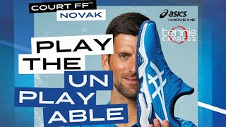 ASICS Court FF Novak US Open Tennis Shoes | Tennis Express