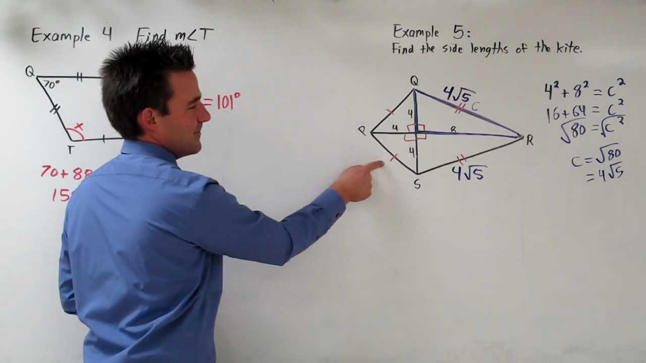 Geometry Kite Examples - YouTube