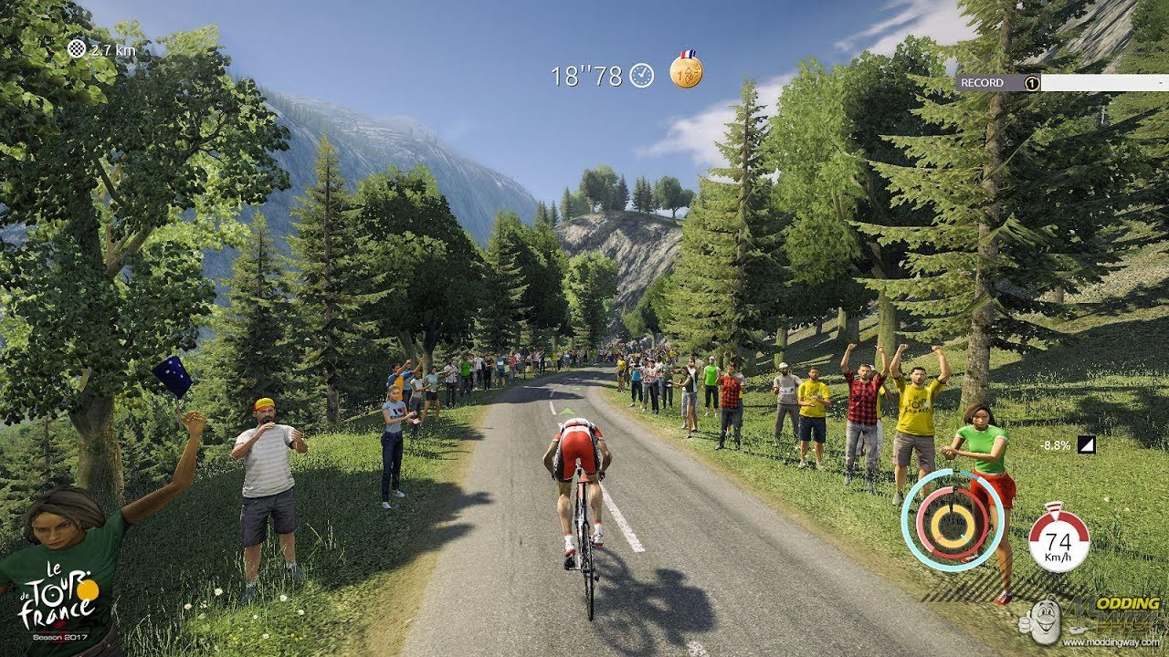 Pro Cycling Manager 2017 Mountain Gameplay Hd Youtube