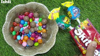 Mixing Candy in Bowl with Nursery Rhymes Johnny Johnny yes papa from Ishfi