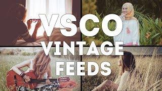 Cara Edit Vintage (Retro) Filter di VSCO Android dan iOS   Tutorial