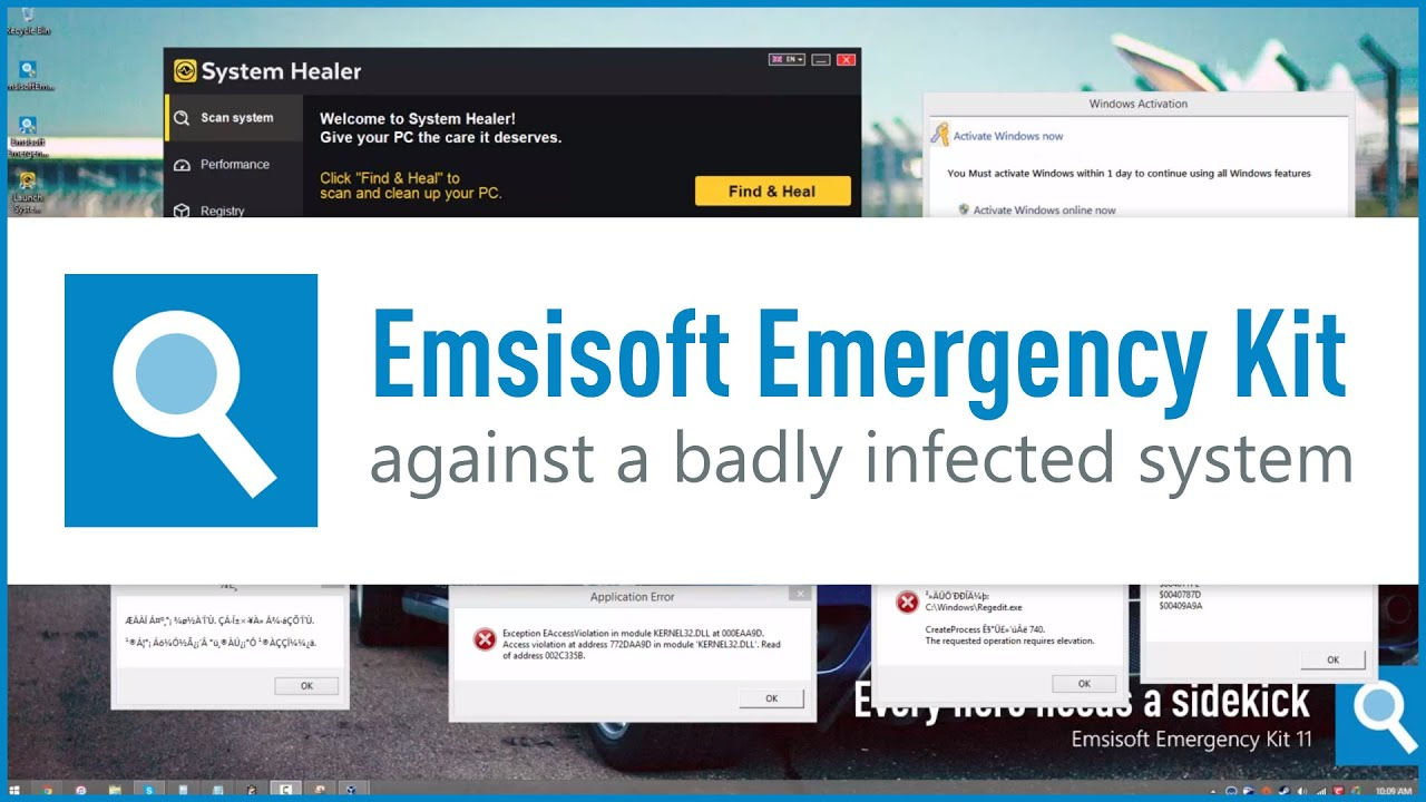 Emsisoft Emergency Kit Against A Badly Infected System YouTube - Find elevation by address