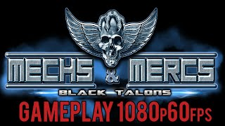 Mechs and Mercs Black Talons Gameplay 1080p60fps