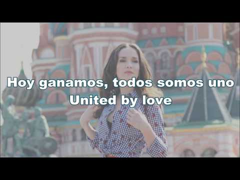 Natalia Oreiro - United By Love (Russia 2018) Lyrics