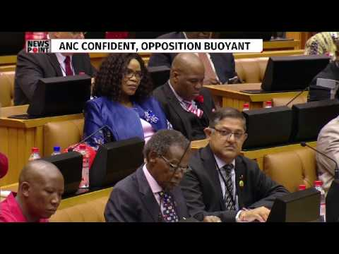 Parliament debates motion of no confidence in President Zuma