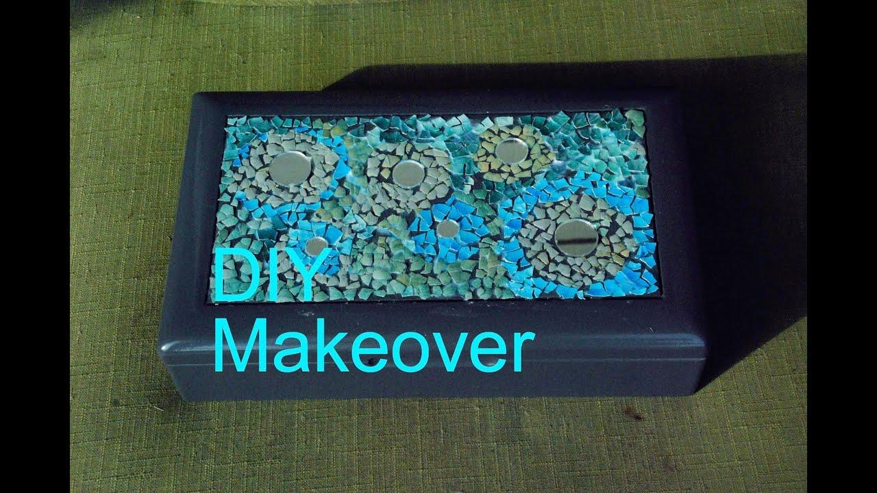 DIY JEWELRY Box and Makeup Storage Decoration Idea YouTube