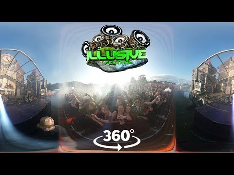 Illusive Festival Highlights in 360 VR!  Buckle up! : 4K