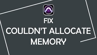 """How to fix """"Couldn't allocate memory for the disk cache..."""" error in Pro Tools"""