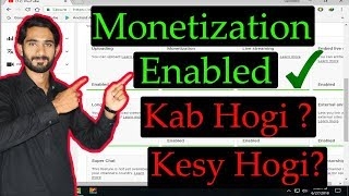 My Youtube Channel Monetization Enabled