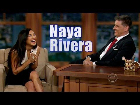 Naya Rivera  Has A Flamboyant  Base  Only Appearance