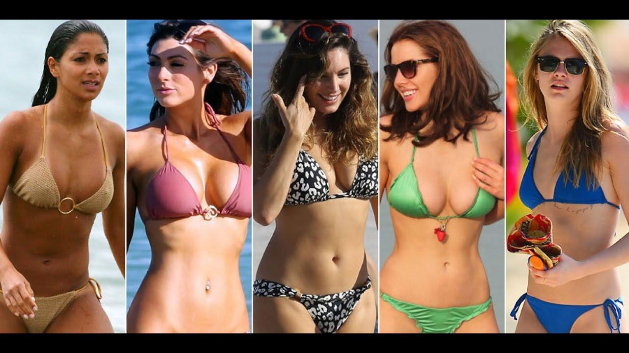Top 10 Seiest Hollywood Celebrity Bikini Bodies - Youtube-6983