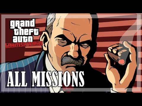 GTA Liberty City Stories - All Missions (Mobile)