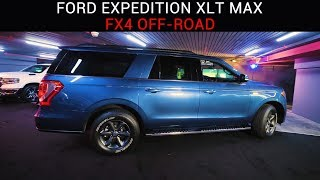 "Тизер ""FORD EXPEDITION XLT MAX с пакетом опций FX4 OFF-ROAD"""
