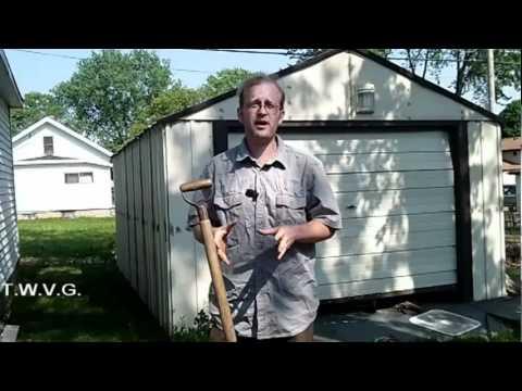 Planting Beans, Homemade compost Bin The Wisconsin Vegetable Gardener Show 30