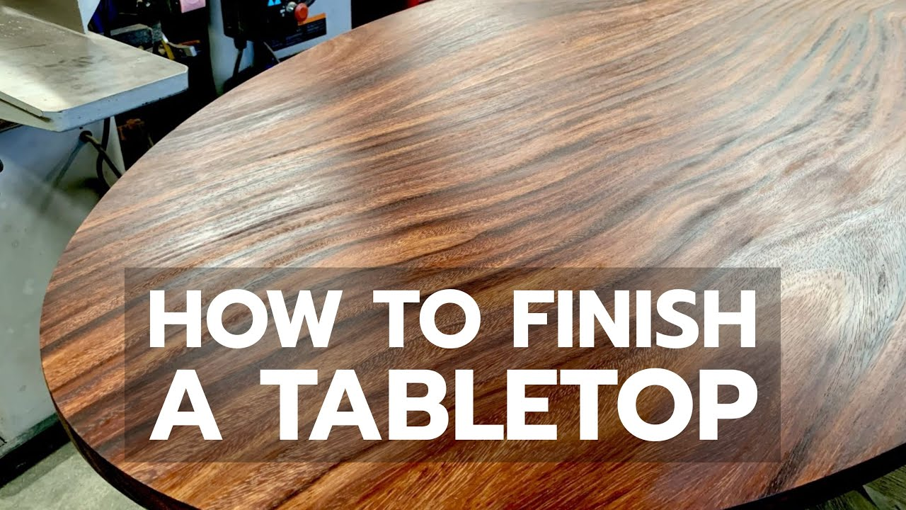 Best Way to Finish a Tabletop   Bailey Line Life 9