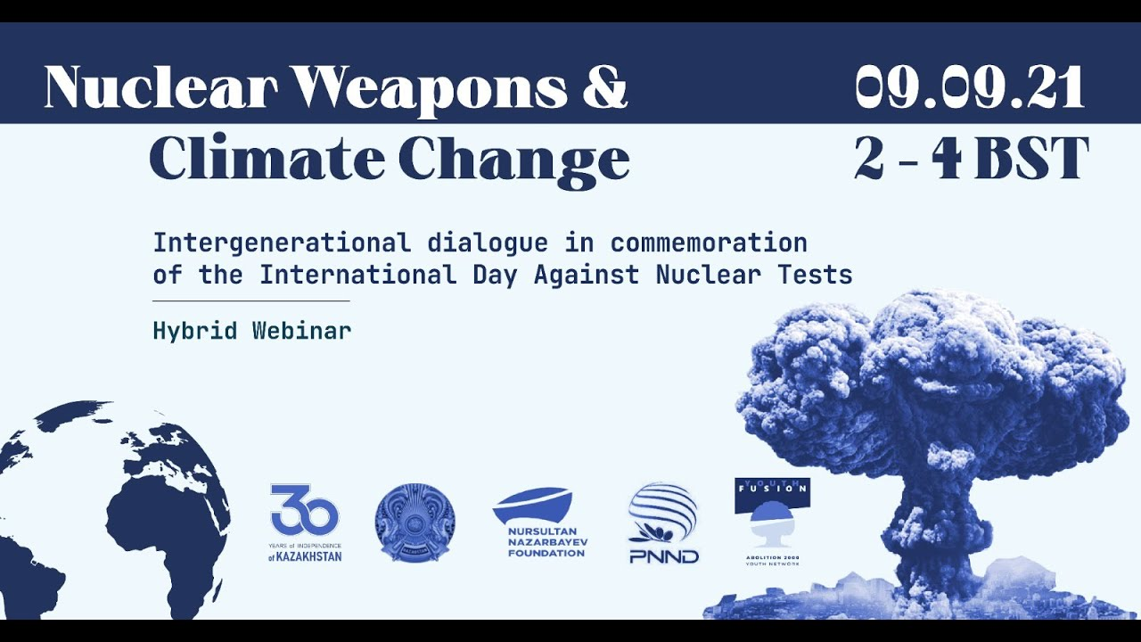 Download Panel Sessions of Nuclear Weapons & Climate Change (IDANT commemorative event 2021)