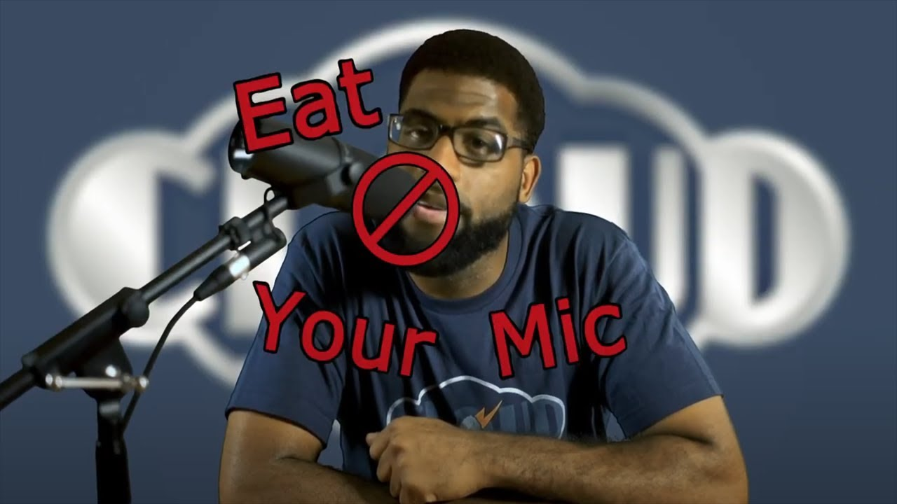 Get Lifted: Don't Eat Your Mic!