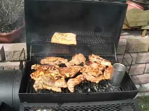 grillen mit smoker youtube. Black Bedroom Furniture Sets. Home Design Ideas