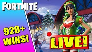 🔴 Best Fortnite Nintendo Switch Player // 920 Wins // Solo Matches // Tinseltoes Skin!!