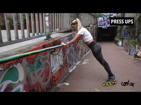 KEEN TrailFit Movement   City Workout Tutorial