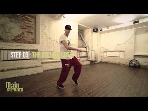 видео: hip hop online   Урок 2 - Базовые Шаги   mainstream