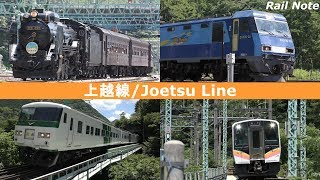 夏だ臨時だ! 初夏の上越線/JR Joetsu Line in the early summer