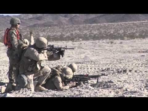 U.S. Marine Corps, 1st Marine Division Live-Fire Exercise