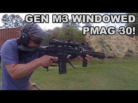 Gen M3 Windowed PMAG! Magpul's Latest 30rd Mag