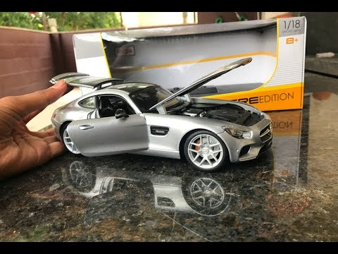 Mercedes Benz Amg Gt Diecast Unboxing 1 18 Toy Mercedes