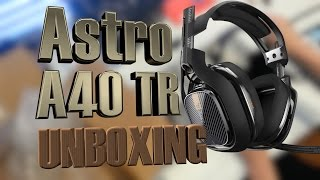 Astro A40 TR Unboxing!