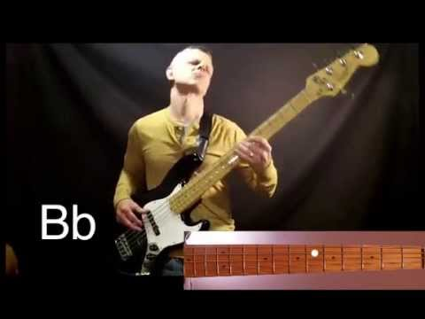Lord I Need You (bass cover with graphics and notes) - YouTube