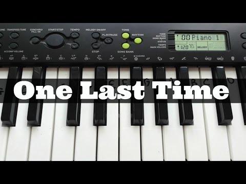 One Last Time - Ariana Grande | Easy...