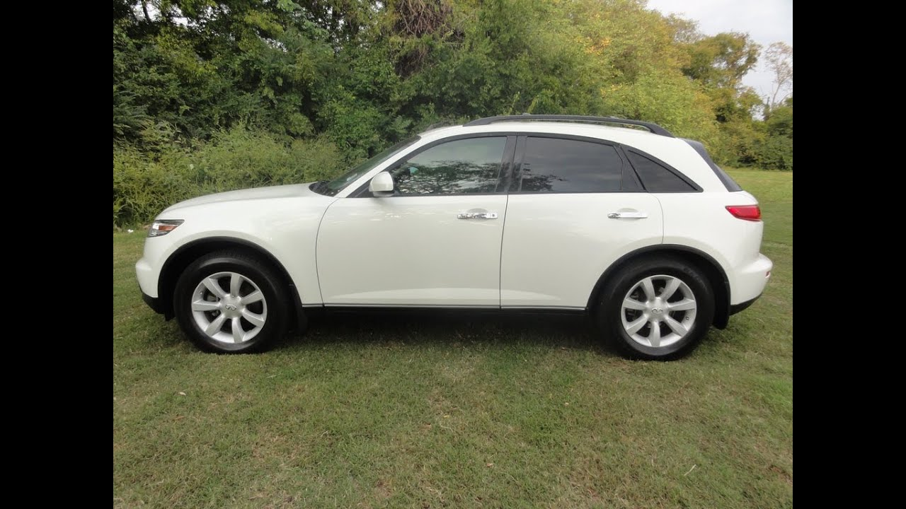 Sold2004 infiniti fx35 low miles 88k moonroof pearl white at ford sold2004 infiniti fx35 low miles 88k moonroof pearl white at ford of murfreesboro 888 439 1265 youtube vanachro Gallery