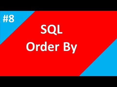 Order By in SQL| Part 8 | SQL tutorial for beginners | Tech Talk Tricks