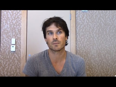 Ian Somerhalder Interview - Vampire Diaries Season 8 (Comic Con)