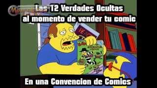 , Al momento de Vender tu Historieta, en una Convencion de Comics