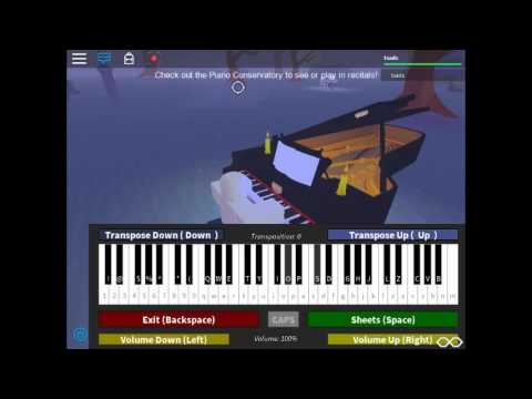 his theme piano sheet music roblox