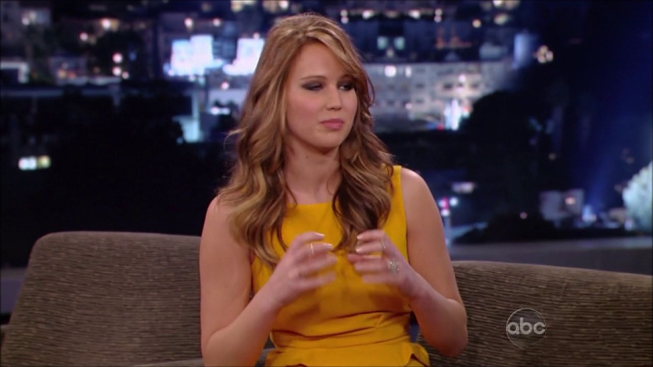 Jennifer Lawrence Interview 2013 - YouTube