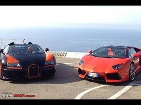 Compare Lamborghini Aventador vs Bugatti Veyron - YouTube