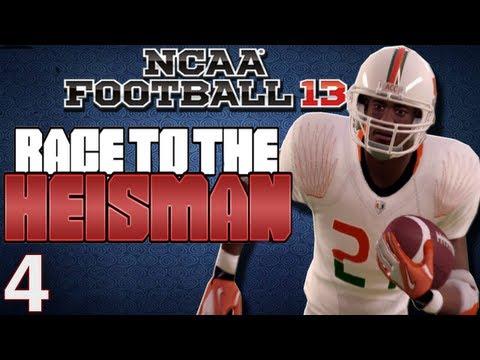 NCAA Football 13 - Heisman Challenge Ft. Desmond Howard Ep.4 Week 7-9