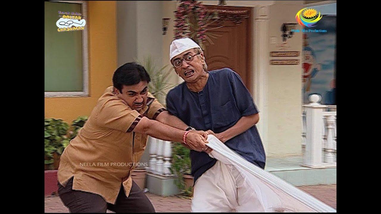 Download Bapuji Ki Dhoti   Taarak Mehta Ka Ooltah Chashmah   TMKOC Comedy   तारक मेहता  का उल्टा चश्मा