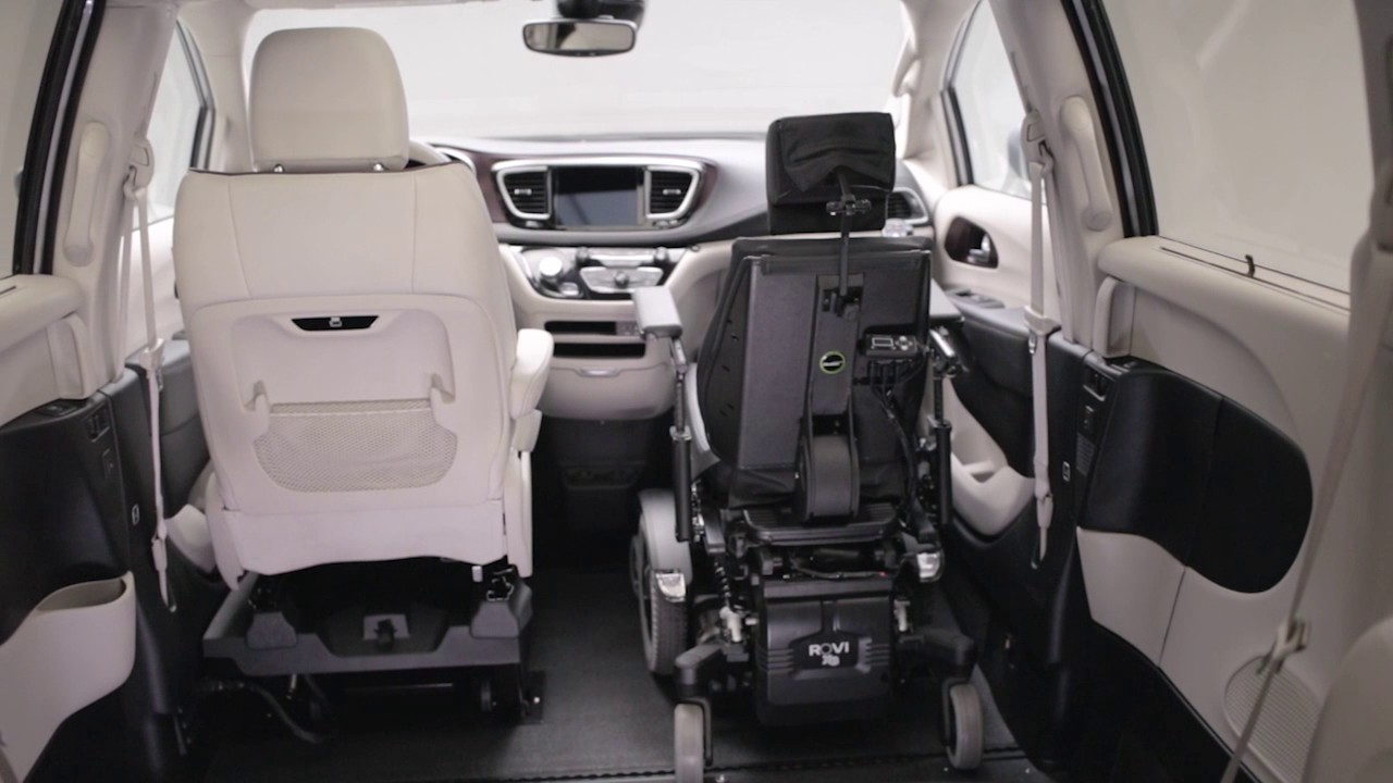 VMI Chrysler Pacifica Wheelchair Van
